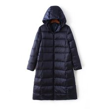 2016 New women duck down jackets Parka female long down coat big size winter high quality doudoune femme manteau femme hiver 3XL