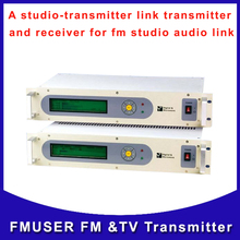 Fmuser STL-10 A studio-transmitter Link including transmitter receiver and antennna fm studio video audio link