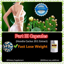 Part III(Hoodia Cactus 20:1 Extract),fast lose weight,slimming,fat burner,grow thin,dietary supplement
