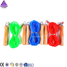 Women's 3 Color And 3 Meters Long Single Skip Rope & PVC Material Jump Rope ,China Top One brand Lenawave Rope(China)