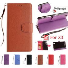 Buy PU Leather Leathe Flip Wallet Wallt Phone Mobile Case carcasa capa Cover Cove Sony Soni Xperia Xperi Z3 D6643 D6633 Z 3 for $4.69 in AliExpress store