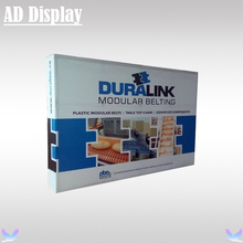 10ft Straight Exhibition Fabric Banner Pop Up Backwall Display Stand With Single Side Stretch Graphic Printing (Include End Cap)