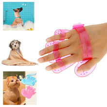 Cleaning Brush Comb for Dogs Cats Rubber Glove Pets Grooming Bath Pet Products