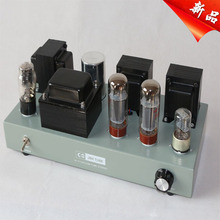 The fever single end Class A vacuum tube  6N9P EL34B valve tube amplifier pure hand-made