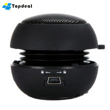 Portable Pocket Mini Hamburger USB Speaker for iPhone iPad iPod Laptop PC MP3 Music Audio Player Amplifier Black Free Shipping(China)