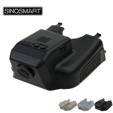 SINOSMART In Stock Car Wifi DVR Camera for Mercedes Benz R 2015 Hidden Installation Control by App Dual Camera Optional