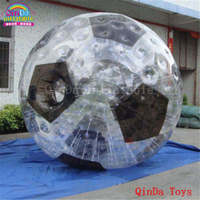 3m diameter outdoor bubble ball suit,inflatable soccer zorb ball for rolling on grass