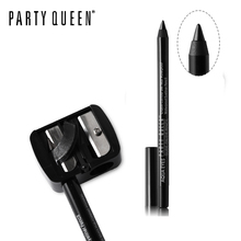 Party Queen 2pcs Double Holes Sharpener for Cosmetics Eyeliner Pencil + Pencil Sharpener Makeup Set Practical Eye Liner Pen Tool(China)
