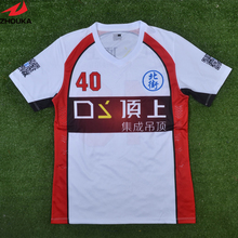 100% Polyester Thai Quality Design Your Own Football Clothes Cheap American Football Jerseys