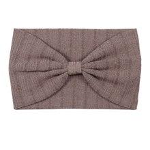 2018 Inverno Caldo Solido Semplice Fasce di Cotone Stretch In Pelle  Scamosciata Testa Nodo Fascia di Lana di Lana Ornamento Hair. c0e143fd8cc9