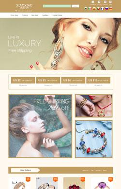 小小设计▲ 高贵奢华范 时尚大气 珠宝首饰项链发夹等通用