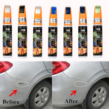 New Car Scratch Repair Pen 1PC Pro Auto Car Coat Paint Pen Touch Up Scratch Clear Repair Remover Pen Silver/Black/Blue/Green(China)