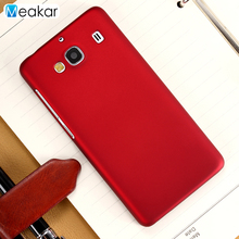 Grind arenaceous Hard Plastic shell 4.7for Xiaomi redmi 2 Case 2a Cell Phone Back Cover - Meakar007 Store store