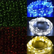 Mabor 10M 100LED LED Copper Wire Strip String Light Lamp  Wedding Party Restaurant and Shops EU