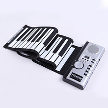 Real Electronic organ Musical Instrument Portable Piano Top quality Brand Beginner Kids Toys Soft Keyboard Piano For Children