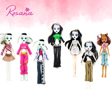 Rosana Clothes for Monster High Doll Original Clothing Casual Suit Party Dress Blouse Trouser Pants Outfit Dolls Accessories