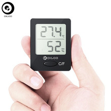 Digoo Mini Thermometer Hygrometer DG-TH1130 Home Comfort Digital Indoor Temperature Humidity Monitor