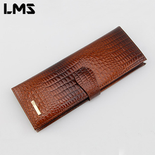 LMS 2017 New Fashion Men Women Wallet Purse Credit Card Holder Brand PU Leather Cover on The Passport Women Business Card Holder(China)