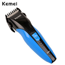 Kemei Professional Hair Trimmer Electric Hair Clipper Hair Cutter for Adults and Kids Hair Styling Tools with a comb and brush(China)
