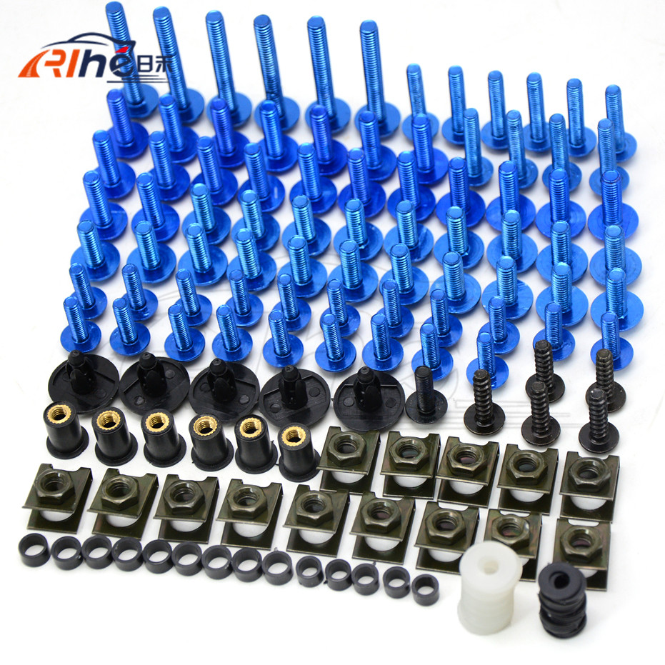 Set Motorcycle Accessories 7colors Fairing Bolts Screw Aluminum for Ducati Multistrada 1200 S Pikes Peak Moto Guzzi V7 Special<br>