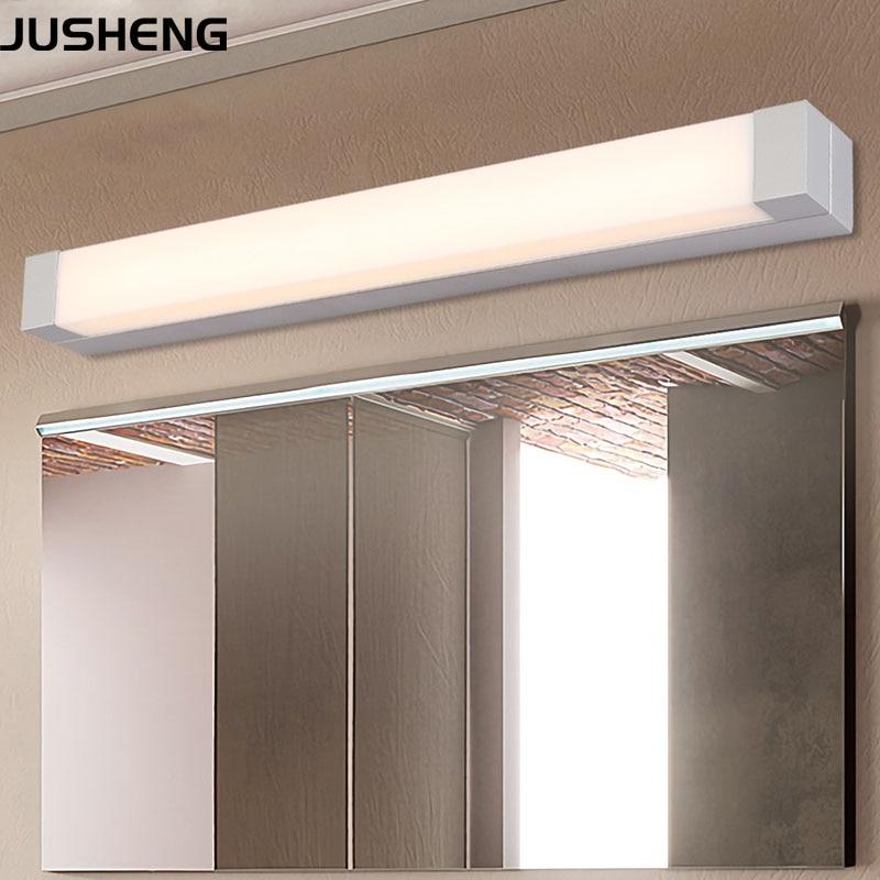 JUSHENG LED Wall Light Modern Interior Bathroom Furniture LED Mirror Light 9W 12W 14W 16W Indoor Lighting