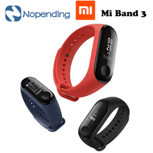 "Original Xiaomi Mi Band 3 Smart Bracelet 0.78"" 5ATM Water Resistant Sports Fitness Tracker Reject Phone Calls Notification"