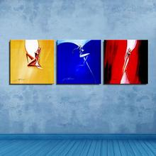 Graffiti Figure Painting Abstract Frameless Unframed Canvas Oil Painting Spray Waterproof miniature Scarf Home decor Artist