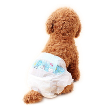 10pcs/set Dog Diapers Urine Shorts Pet cat dog Super Water-absorbing type Dry health pants deodorant antibacterial Supplies(China)