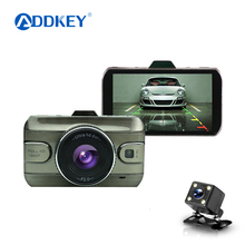 2017 New 3.0 inch Dual Lens Car Dvrs Full HD 1080P Car Dvr Video Recorder Car Camera Dash Cam Support Rear View Backup Camera