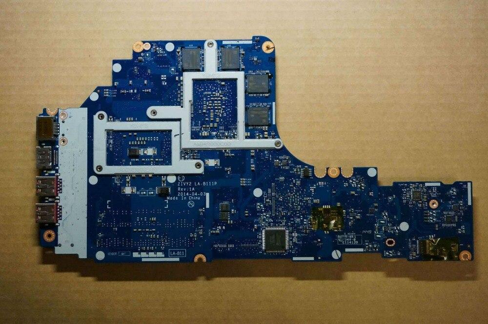 Lenovo IdeaPad Y50-70 Motherboard 5B20G57043 MB W8p I7-4710 Gtx860 2