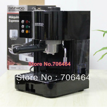 Black Semi-automatic espresso coffee maker 15 Bar cappuccino portable coffee machine latte electric coffee maker home appliance(China)