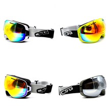 New Arrive 4 Styles New Brand  Ski Goggles UV400 Anti-Fog Eyewear Mask Glasses Skiing Men Women Snow Snowboard Goggles