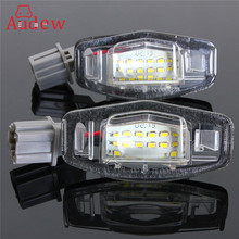 2Pcs 18 LED License Plate Lights Number Plate Lamp For Honda/Accord/Odyssey/Acura/TSX/Civic 01-05