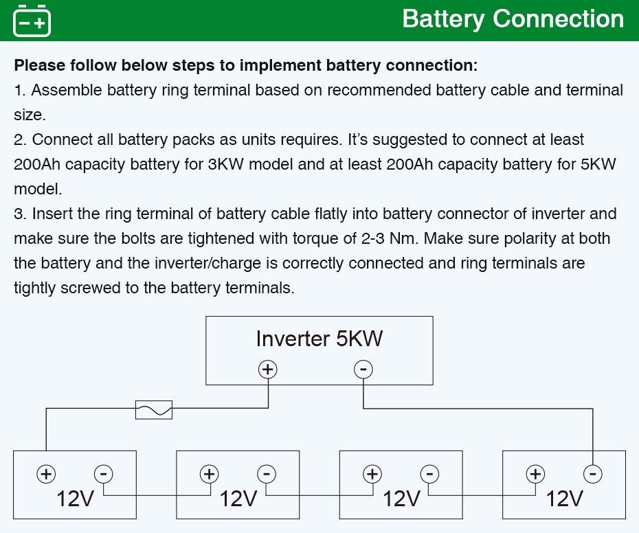 EASUN POWER Bluetooth 5000w solar Inverter 220V 48V Pure Sine Wave Inverter 80A MPPT solar charge 60A battery charger   04