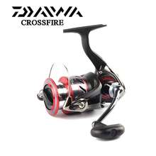 DAIWA fishing reel upgrade CROSSFIRE Aluminum Spool 2000/2500/3000/4000 with Light body 4 Stainless steel bearings(China)