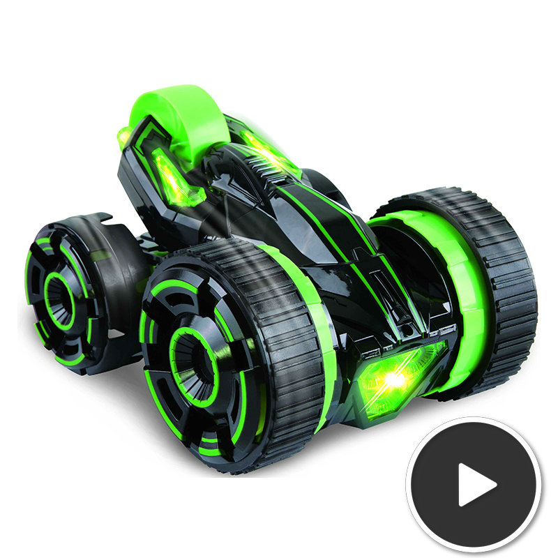 30KM/H 5-Wheel 6CH RC Stunt Car Sport Utility Vehicle With LED Light, Can Do Many Amazing Shows <br><br>Aliexpress