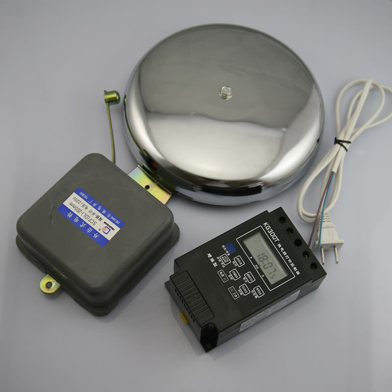 Automatic micro-computer automatic Bell factory Bell school bell system equipped with 6-inch hit outside the Bell<br>