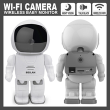 Astronaut Robot WIFI IP Camera HD 960P 1.3MP CMOS Wireless CCTV P2P Audio Security Cam Remote Home Monitoring IR Night Vision(China)