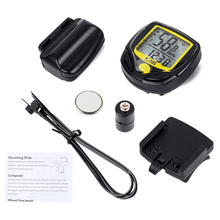 Wireless Bike Computer,Waterproof Cycling Meter Odometer Speedometer With LCD Display,Cycling Computer Velocimetro Stopwatch