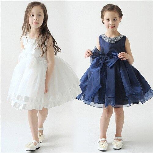 Hot Sale New 2015 Kids Girls Dress Cute Ball Gown Clothes, Wedding Flower Girl Pricess Clothes, Lovely Baby Girls Dress<br><br>Aliexpress