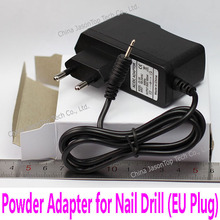 9V EU Plug Power Adapter for Electric Nail Drill UV Gel Remover Machine Nail Art Manicure Pedicure Cuticle Removing Tool AC DC