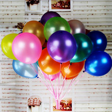 High Quality 10pcs/lot 12-inch 2.8g White Latex Balloon Air Ball Inflatable Wedding Birthday Party Decoration Float Balloon Toys