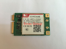 1PCS  SIM5360E MIINI PCIE Guaranteed 100% New Original WCDMA/HSPA GSM/GPRS/EDGE 3G Module For PDA MID PND AIM POS for Europe