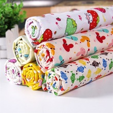 160*100cm size baby 100% cotton knitted jersey fabric printing cartoon DIY sewing upholstery clothing patchwork by meter