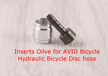 20pc bicycle Cables Housing hose connector insert olive Hydraulic disc brake Olive Insert kit for AVID SRAM Hydraulic Brake hose(China)