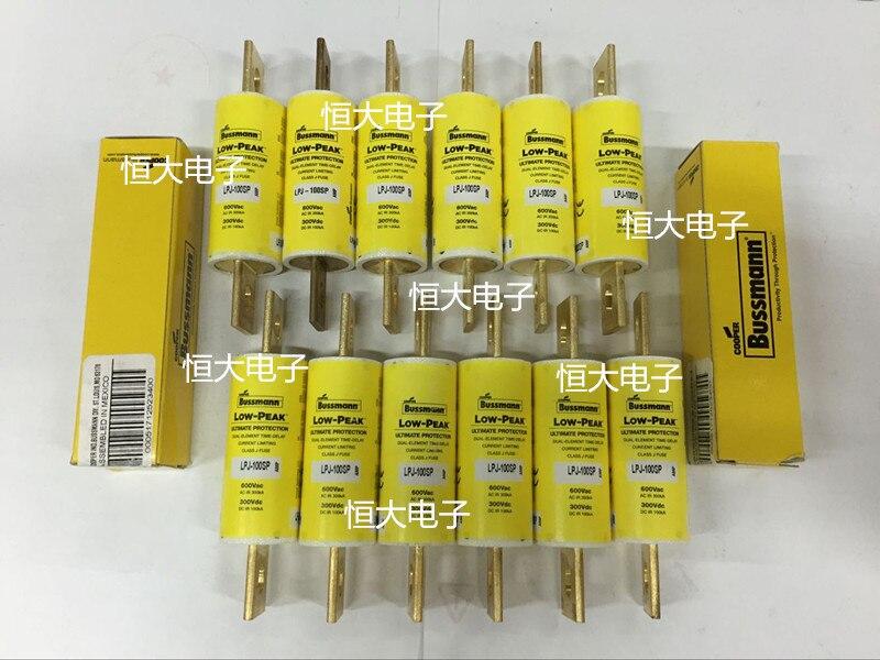 BUSSMANN LPJ-500SP 600V imported fuse delay fuse, American original genuine<br>