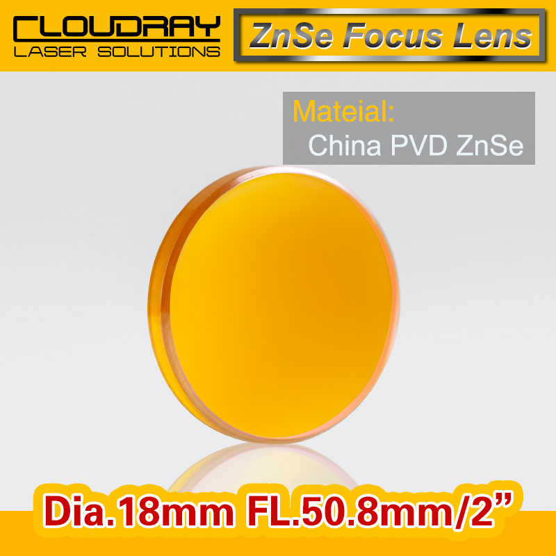 China ZnSe Focus Lens CO2 Laser Engraving Cutter  DIa. 18mm Focal 50.8mm 2 Free Shipping<br><br>Aliexpress