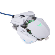 Combaterwing Gaming Mouse Optical USB Wired Programmable 10 Buttons RGB Breathing LED Mice For Windows XP/Vista/Windows 7/Mac OS