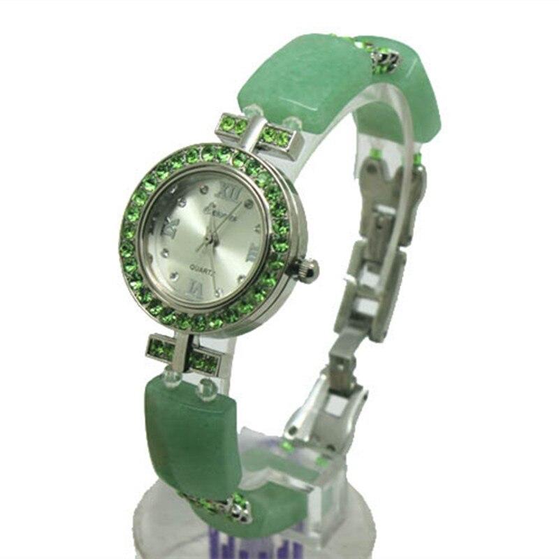 Women Luxury Watch Classic jade Bracelet Wristwatch Cozy Sport Fashion Casual Quartz Watch Clock 2017 Hot sell Free Shipping <br>