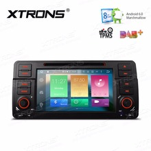XTRONS 7'' Radio Android 6.0 Octa Core 1 Din Car DVD Player GPS for BMW E46 320 325 1998-2006/Rover 75 1999-2005/MG ZT 1999-2006